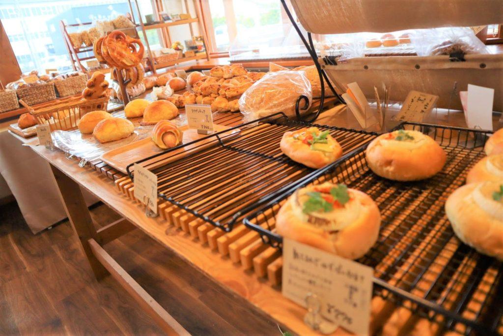 【幸運を運ぶパン】熊本市南区のパン屋さんGluck(グリュック)でお昼ごはん