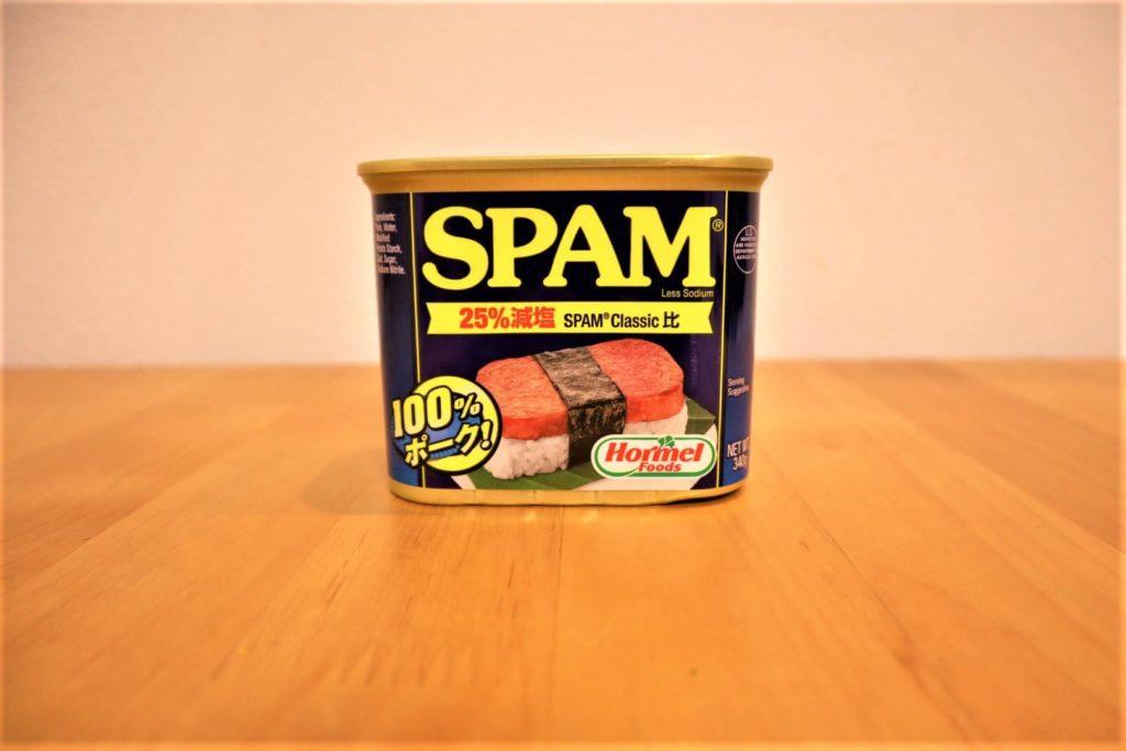 スーパーで普段絶対選ばないものを買うぞプロジェクト『SPAM(スパム)』(4月)