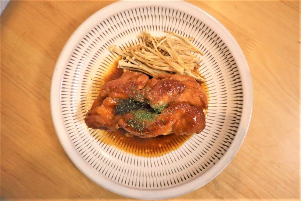 鶏モモのふっくらつや煮がフワフワジューシーで鶏肉料理の枠を超えてきた【ホットクックでかんたん料理(男めし)】