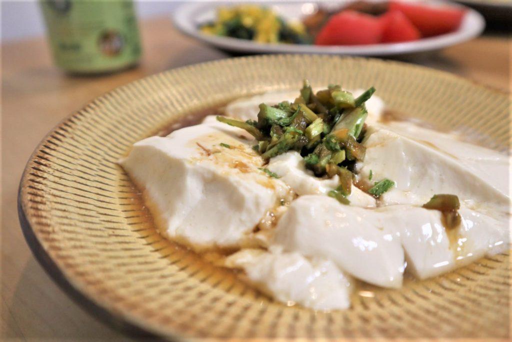 """豆乳と""""にがり""""でつくる手づくり豆腐が味濃くてうまいぞ【ホットクックでかんたん料理(男めし)】"""