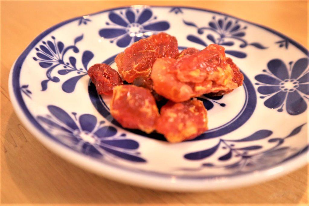 スーパーで普段絶対選ばないものを買うぞプロジェクト『塩トマト甘納豆』(6月)