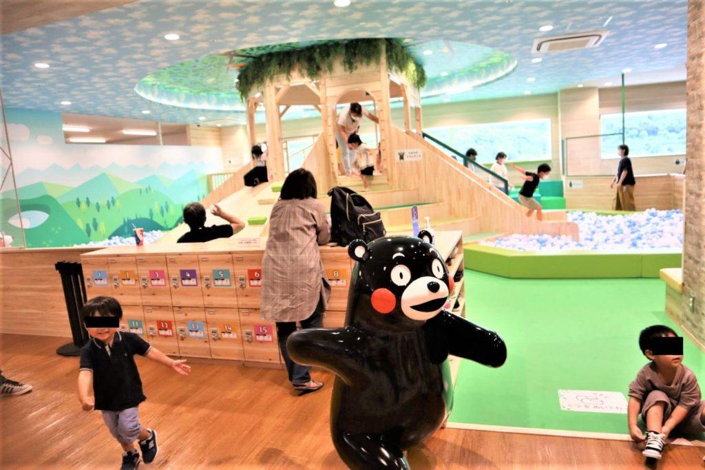 アミュプラザ熊本6階の遊び場『fun village』2歳以下は利用不可なのでご注意を