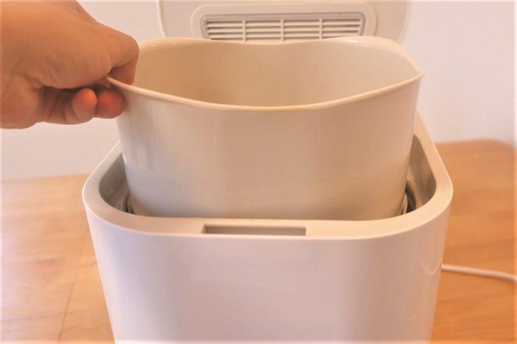 パリパリキュー(生ごみ乾燥機)で生ごみをドライフルーツの薫りに変えよう。【自治体によって購入補助金あり】